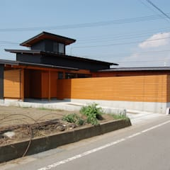 Casas de estilo  por 田村建築設計工房