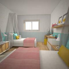 Projeto RM - Quarto Infantil: Quartos de criança  por Areabranca,Moderno