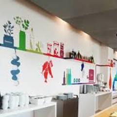 Buiten-de-deur-werk-pareltje : Seats2Meet Strijp-S Eindhoven :  Gastronomie door INinterieurs