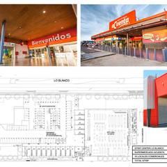 STRIP CENTER LO BLANCO: Centros Comerciales de estilo  por surarquitectura