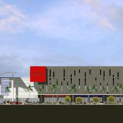 ESPACIO URBANO : Centros Comerciales de estilo  por surarquitectura