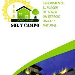 Condominio para casas de Campo: Espacios comerciales de estilo  por James Flores Acuña, Rústico Concreto