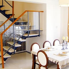 اتاق غذاخوری توسط果仁室內裝修設計有限公司