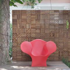 Salas de eventos de estilo  por Costa Bastos ArqPaisagismo