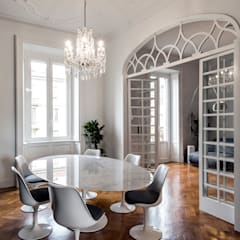 classic Dining room by Tommaso Giunchi Architect