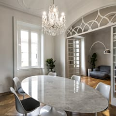 Dining room by Tommaso Giunchi Architect