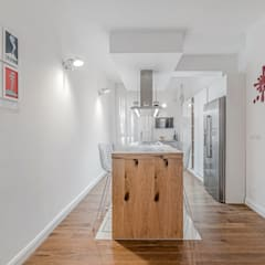 Ristrutturazione appartamento Milano, Tibaldi: Cucina in stile in stile Moderno di Facile Ristrutturare