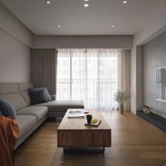 غرفة المعيشة تنفيذ 璞延空間設計
