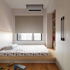 غرفة نوم تنفيذ 璞延空間設計