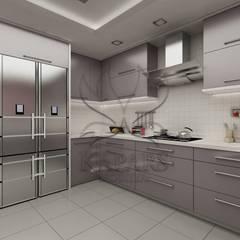 Kapars Mobilya & Dekorasyon – Modern Mutfak Projesi:  tarz Mutfak