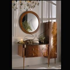 Kapars Mobilya & Dekorasyon – Klasik Banyo Projeleri : klasik tarz tarz Banyo