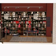 Agencement magasin assouline: Locaux commerciaux & Magasins de style  par relion conception