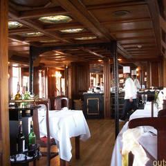 Schiffsrestaurant:  Hotels von outsideIN | Innen-Architektur