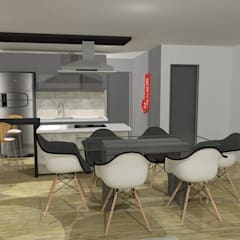 Dining room by Maria Eduarda Reis Interiores