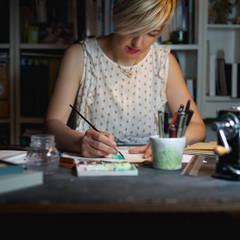 Ramina Studio: Studio in stile  di Ramina Studio