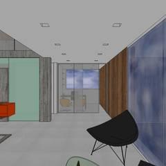Casa en la Unión: Salas / recibidores de estilo  por MARATEA Estudio