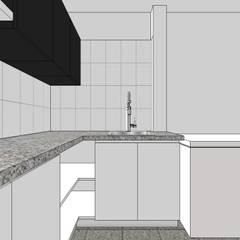 Área de trabajo interna: Restaurantes de estilo  por MARATEA Estudio