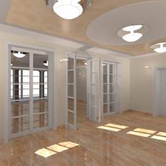 Der Umbau der Villa Hermannshof - Foyer :  Kongresscenter von Peter Stasek Architects - Corporate Architecture