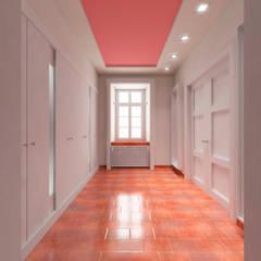 Der Umbau der Villa Hermannshof - Garderobe EG:  Kongresscenter von Peter Stasek Architects - Corporate Architecture