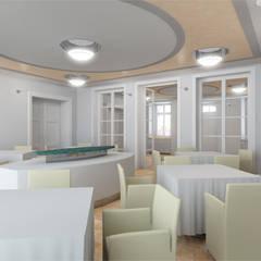 Der Umbau der Villa Hermannshof - Halle:  Kongresscenter von Peter Stasek Architects - Corporate Architecture
