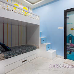 modern Nursery/kid's room by ARK Architects & Interior Designers