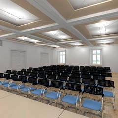 Der Umbau der Villa Hermannshof - Konferenzraum EG - Var. Vortrag:  Kongresscenter von Peter Stasek Architects - Corporate Architecture