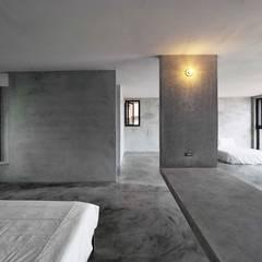 多功能長桌:  臥室 by 本晴設計