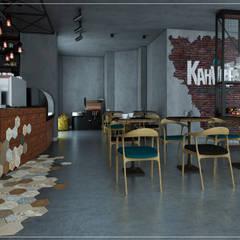 ODBS DESIGN STUDIO – Kahvelen Cafe&Roastery:  tarz Dükkânlar