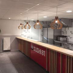 Foto Sushi:  Gastronomie door Anne-Carien Interieurarchitect