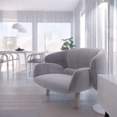 Luxembourg | 90: styl , w kategorii Salon zaprojektowany przez Mohav Design