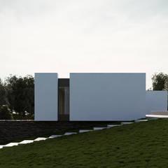 Moradia unifamiliar - Tipologia T4: Casas  por EsboçoSigma, Lda,Minimalista