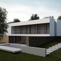 خانه ها توسطEsboçoSigma, Lda, مینیمالیستیک