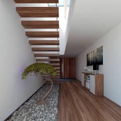 Corridor & hallway by EsboçoSigma, Lda, Minimalist