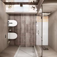 Moradia unifamiliar - Tipologia T4: Casas de banho  por EsboçoSigma, Lda