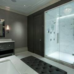 espacios de tranquilidad: Baños de estilo  por arqutectos innova