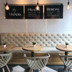 GASTRONOMY ROSALES: Locales gastronómicos de estilo  por Ecologik, Industrial