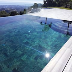 Infinity pool by Piscinas Godo