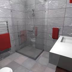 Diseño de Vivienda Unifamiliar Caballito: Baños de estilo  por Diseño de Locales,Clásico