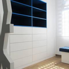 Vivienda en la Loma: Dormitorios infantiles de estilo  de PL Architecture