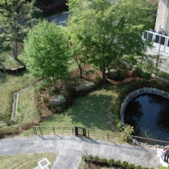 Garden Pond by 株式会社小木野貴光アトリエ 級建築士事務所