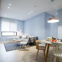 Living room by 宅即變空間微整形, Scandinavian