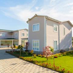 Villa Prefabrik Yapı – İkiz Villa:  tarz Evler