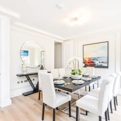 Sulivan Road, Hurlingham, SW6:  Dining room by APT Renovation Ltd