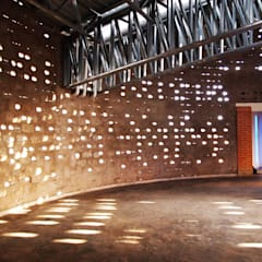 Natural light effect:  Exhibition centres by A4AC Architects
