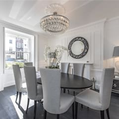 Victoria Square, London SW1W:  Dining room by APT Renovation Ltd