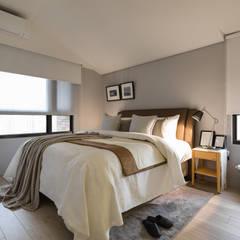 Dormitorios de estilo  por 存果空間設計有限公司