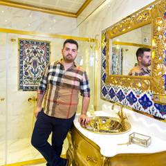MRV YAPI MİMARLIK – NEJAT MUTLU BANYO DEKORASYONU  (Nispetiye): klasik tarz tarz Banyo