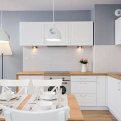 Kitchen units by Justyna Lewicka Design,