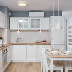 Cocinas de estilo  por Justyna Lewicka Design
