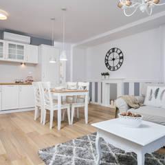 Fabryka Czekolady IV: styl , w kategorii Kuchnia zaprojektowany przez Justyna Lewicka Design